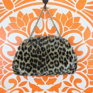 Vintage Ronay Leopard Evening Purse